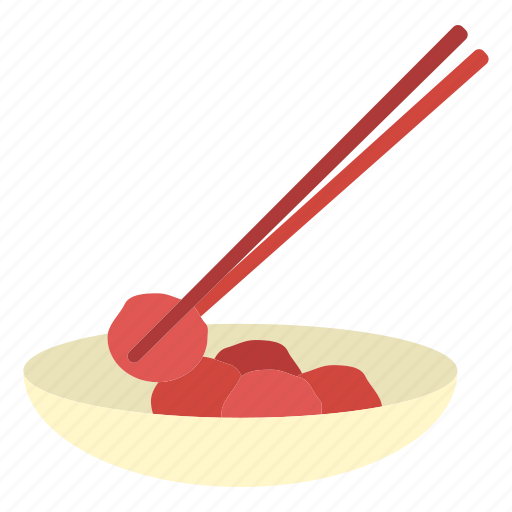 fruit, healthy, japanese food, pickled plum, sour, umeboshi icon