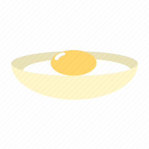 cooking, food, organic, protein, soft-boiled egg icon