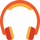 contact, head, headphone, help, listen, phone, support icon