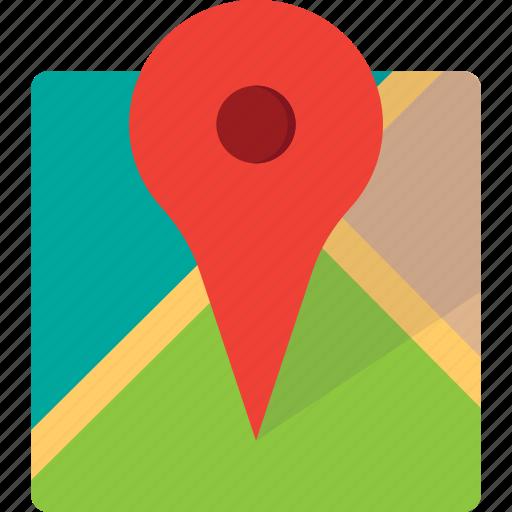 area, location, map, pin, site, zone icon