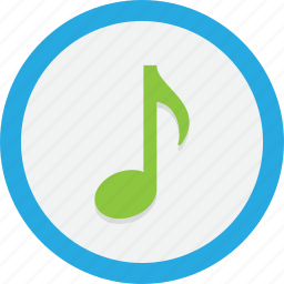 audio, music, node, nota, sound, tune icon