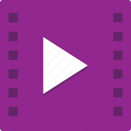 arrow, movie, music, play, player, right, video icon