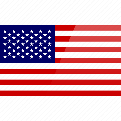 Flag North American Rectangular States United United States - north flags