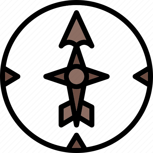 Arrows, north, point, sign, ultra icon - Download on Iconfinder