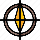 arrows, north, point, sign, ultra icon
