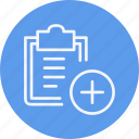 clipboard, document, navigation, note, notepad, sign icon