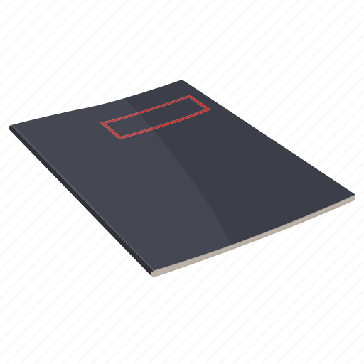 cover book, note, notebook, page, pager, stylesheet, write icon