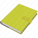 cover book, note, notebook, page, paper, stylesheet, write