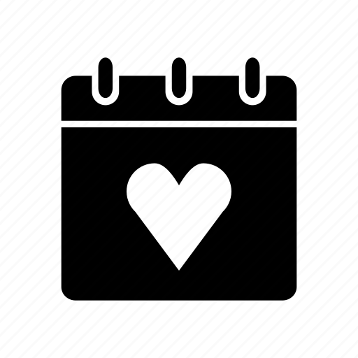 favorites, heart, likes, love, note, notebook, notepad icon