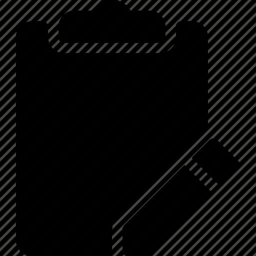 document, edit, files, modify, task icon
