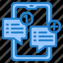 smartphone, message, inbox, notification, alert