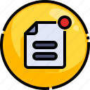 board, notification, message, dashboard, reminder, file, paper