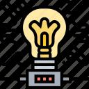 electrical, energy, lightbulb, bright, power