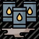 diesel, gas, oil, refill, tank, tanker, transportation icon