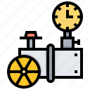 carry, gas, nuclear, pipeline, power icon