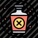 dangerous, illness, medicine, poisoning, substance icon