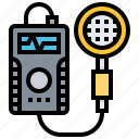 counter, detector, instrument, measurement, radiation icon