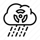 lined, submarine, acid, linear, counter, rain, energy icon