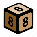 count, eight, figure, math, number, numbers icon