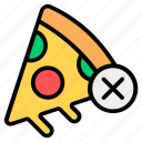 no, no fast food, no fats, no junk, no pizza, no unhealthy food, pizza
