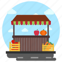 fresh fruits, fruit shop, fruit stall, fruit store, kiosk