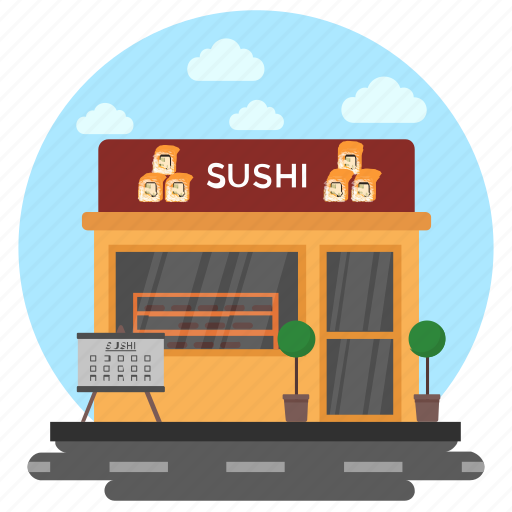 fish house, fish restaurant, food shop, meat shop, seafood restaurant icon