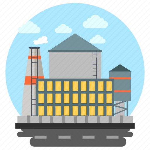 Business unit, commercial center, factory, industrial unit, industry icon - Download on Iconfinder
