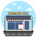 local spa, massage center, outdoor spa, spa, spa salon icon