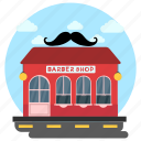 barber shop, barber store, haircut shop, mens salon, salon