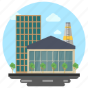 business center, business office, office building, office suite icon