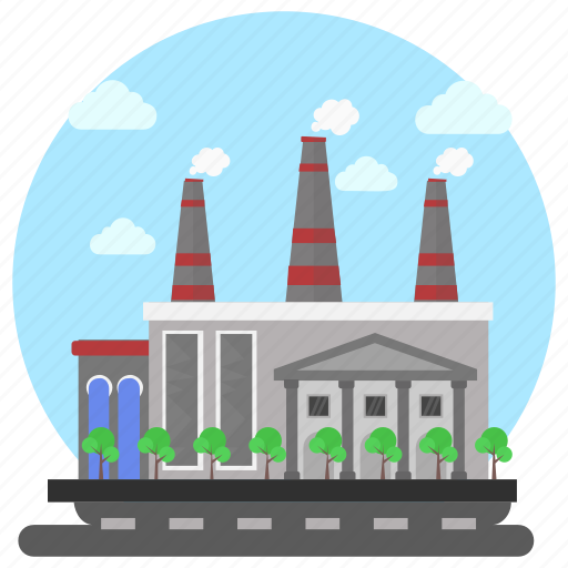 Commercial area, factory, factory outlet, industry, site factory icon - Download on Iconfinder
