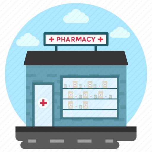 Commercial building, commercial market, medical store, pharmaceutical company, pharmacy icon - Download on Iconfinder