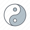 asian, beauty, cosmetics, relaxation, spa, yang, yin icon