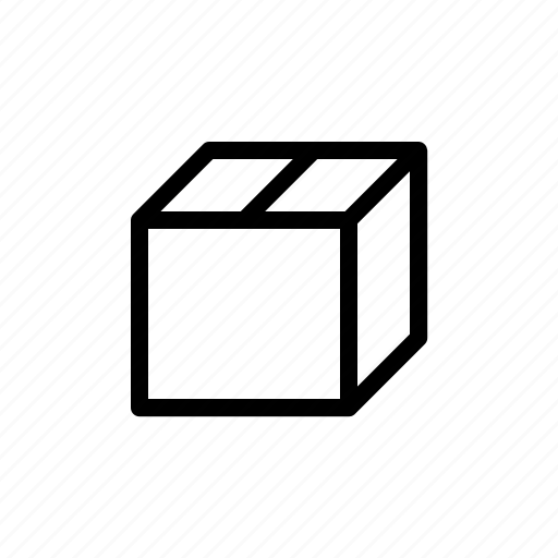 box, container, content, pack, package, shipping, store icon