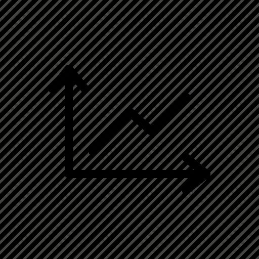 analyse, chart, data, graph, growth, statistics, trend icon