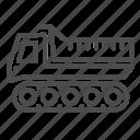 snowplow, winter, snow, cleaner, transport, vehicle, track