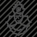 snow, princess, winter, snowflake, queen, avatar, crown
