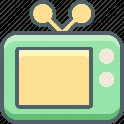 display, monitor, retro, screen, television, tv icon