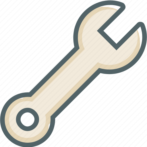 configuration, options, repair, setting, spanner, wrench icon