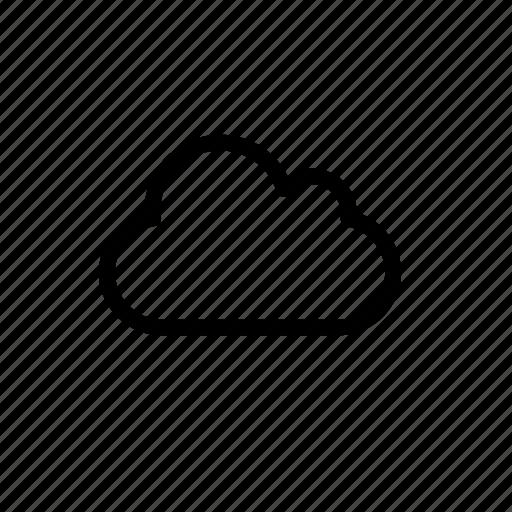 cloud, deposit, files, offsite, online, remote, storage icon