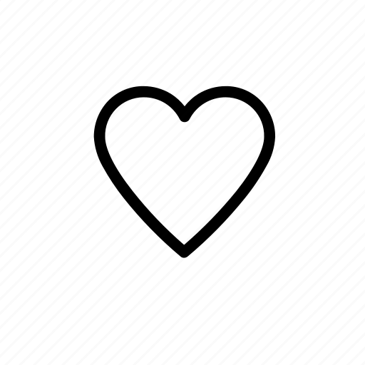 favourite, heart, like, love, prefered icon