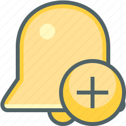 add, alarm, bell, create, new, plus, ring icon