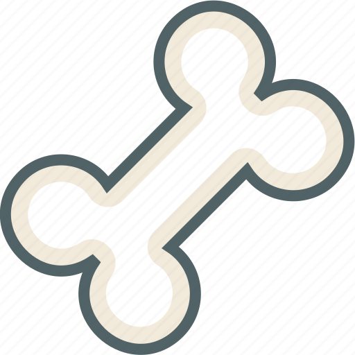 bone, bones, dog, pet icon