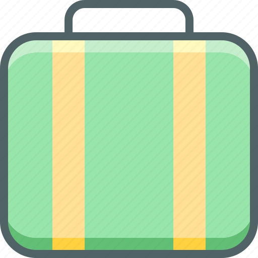 bag, baggage, briefcase, case, luggage, suitcase, travel icon
