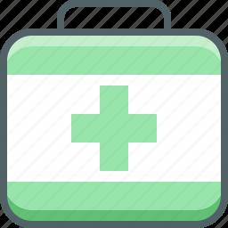 bag, briefcase, doctor, hospital, medical, medicine, suitcase icon