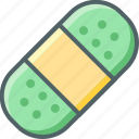 capsule, drug, medical, medicine, pharmacy, pill, vitamins icon