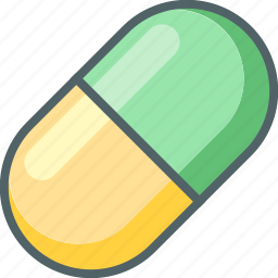 capsule, drug, medicines, pharmacy, pill, pills, vitamins icon