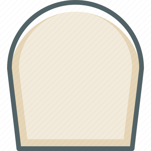 headstone, peace, rest, rip, tombstone icon