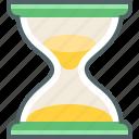 hourglass, clock, sandglass, time, timer icon