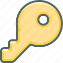 access, key, password, privacy, protection, safety, security icon